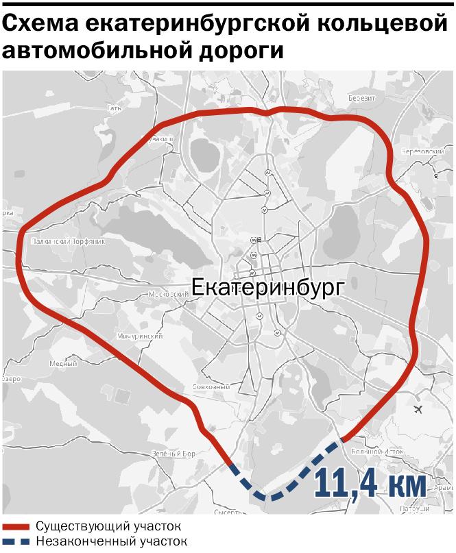 Москва дает миллиард. ЕКАД замкнут быстрее, чем планировалось  1