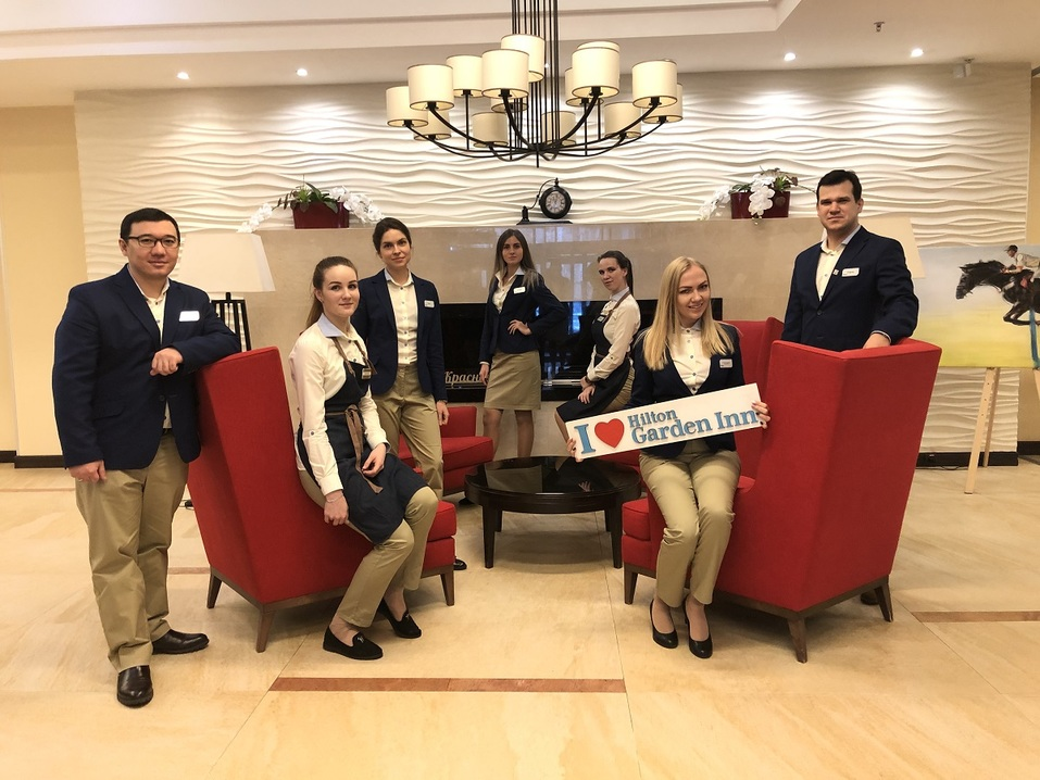 Отель Hilton Garden Inn Krasnoyarsk снова получил «четыре звезды» 1
