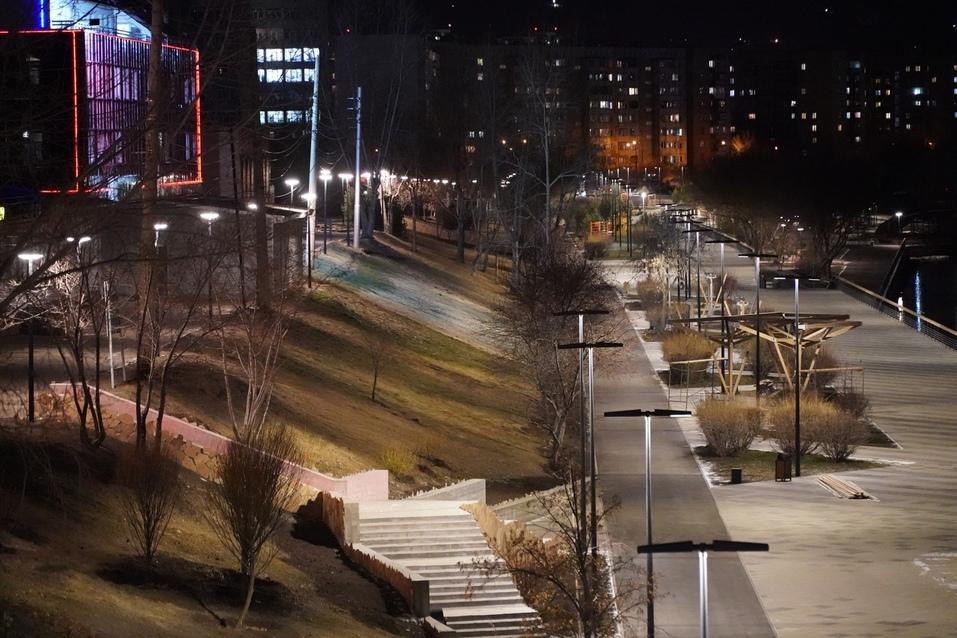 Мэрия Красноярска показала фото преображения правобережной набережной 1