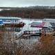 В Нижнем Новгороде затонул дебаркадер. Произошел разлив топлива 1
