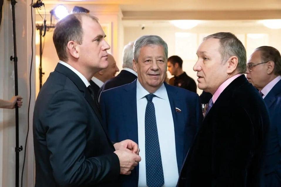 Константин Пудов, Аркадий Чернецкий и Андрей Гавриловский