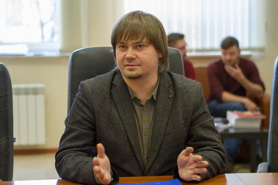"""Директор """"Делового квартала"""" Сергей Дружинин"""