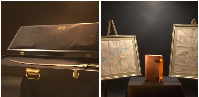 Лоты от Симановского: антикварная книга и сабля