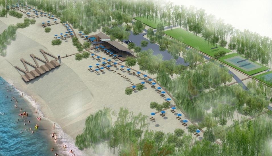 Пляж к Новому году. Сорвавший сроки подрядчик обещал благоустроить Гребной канал в декабре 1
