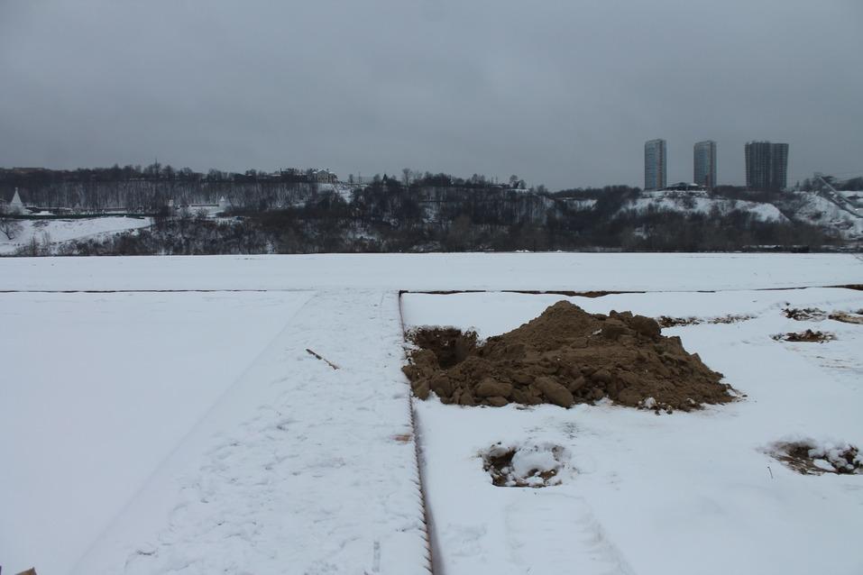 Пляж к Новому году. Сорвавший сроки подрядчик обещал благоустроить Гребной канал в декабре 4