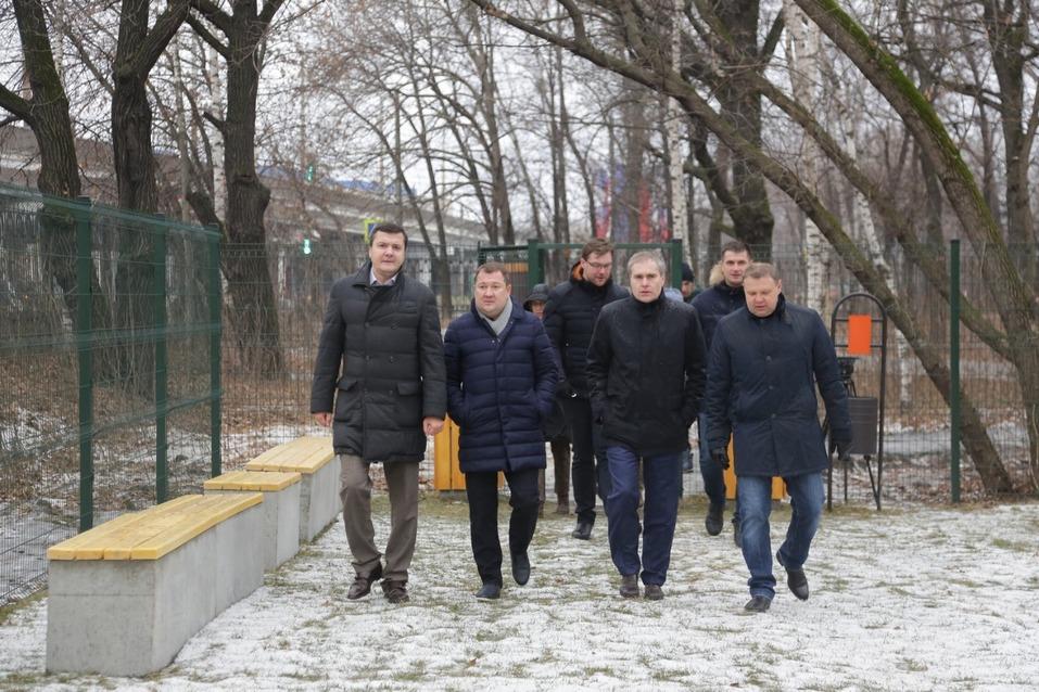 Максим Егоров открыл парк Дубки в Нижнем Новгороде 1