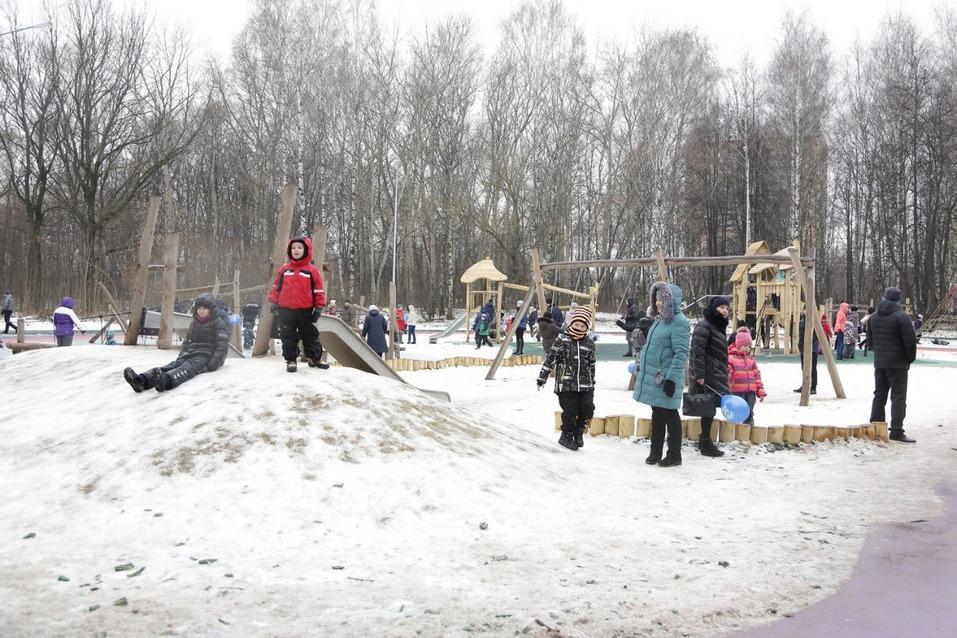 Максим Егоров открыл парк Дубки в Нижнем Новгороде 2