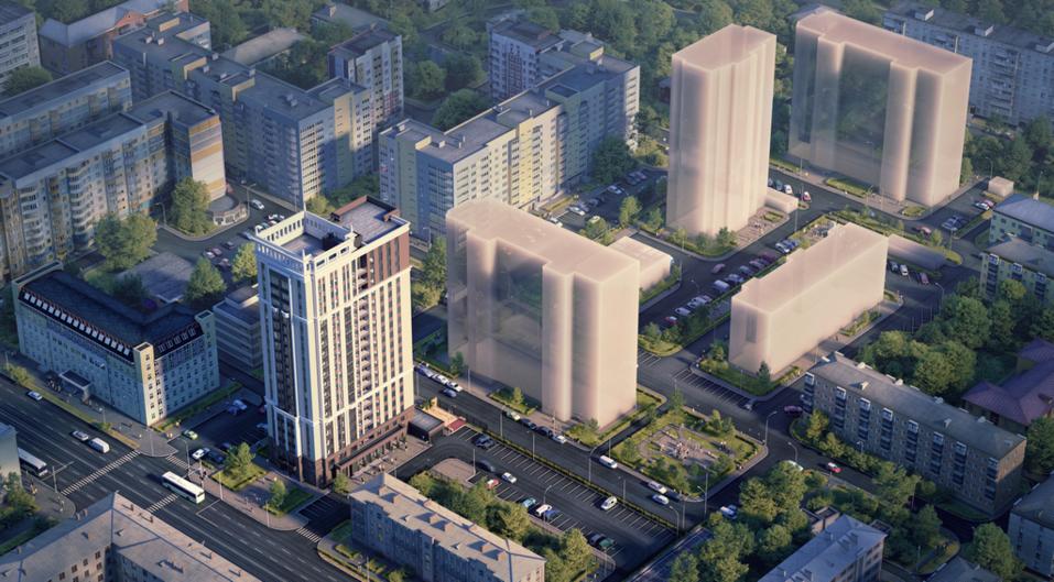 ГК «Каскад» начала строительство нового проекта бизнес-класса в Нижнем Новгороде 1