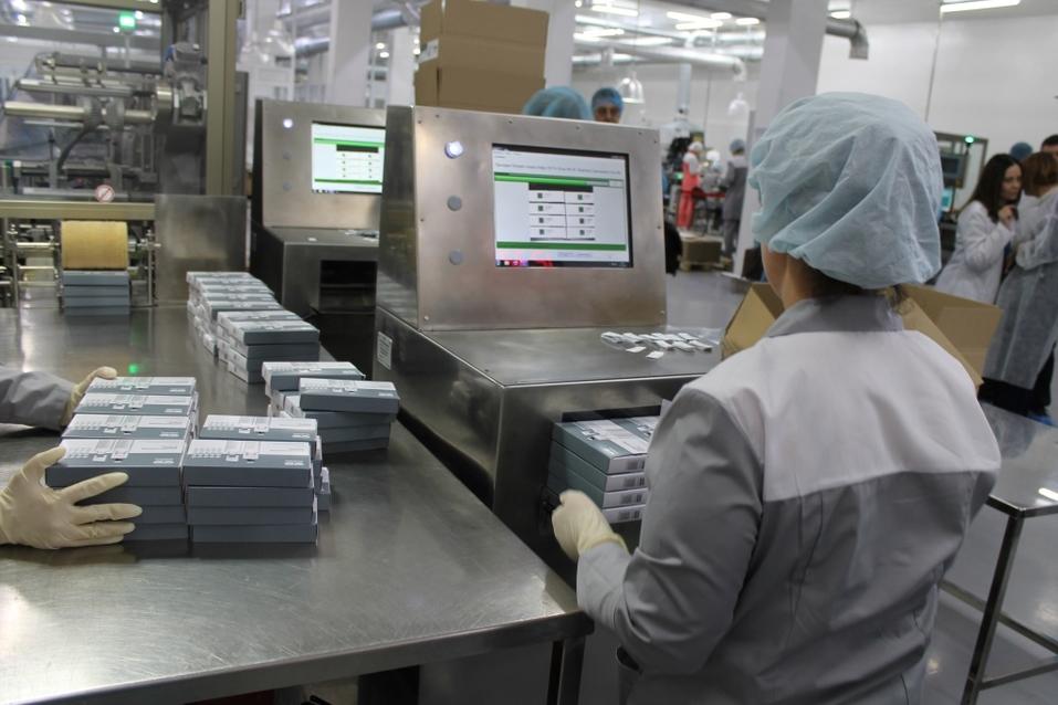 Новосибирское фармпредприятие одним из первых в России запустило маркировку лекарств  8