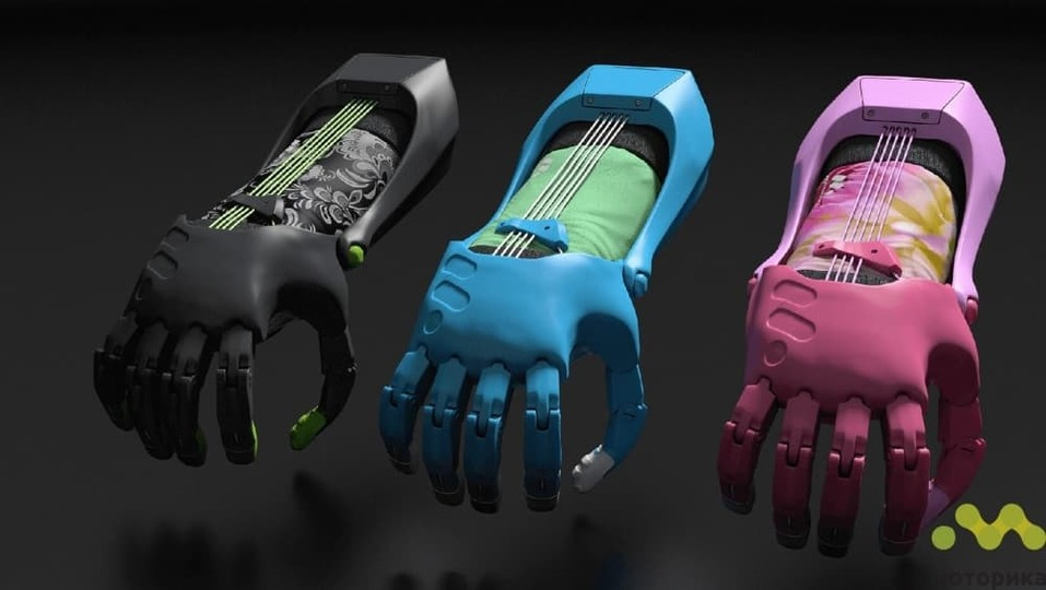 Детские биомеханические протезы от компании «Моторика». Фото с официального сайта
