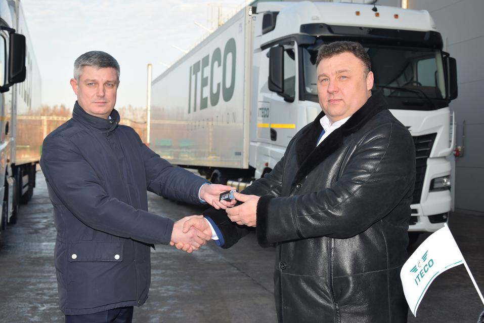 Водители ИТЕКО первыми испытают тягачи КАМАЗ-54901 1
