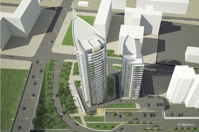 Утвержден проект развития застроенной территории в центре Красноярска 1