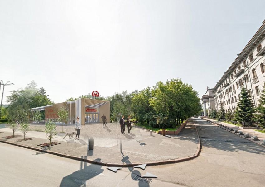 Опубликованы эскизы станций красноярского метро 2
