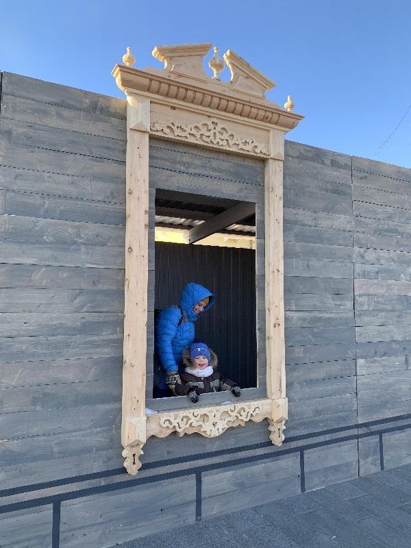 Красноярцы смогут сделать селфи в Историческом квартале на фоне наличников начала ХХ века 2