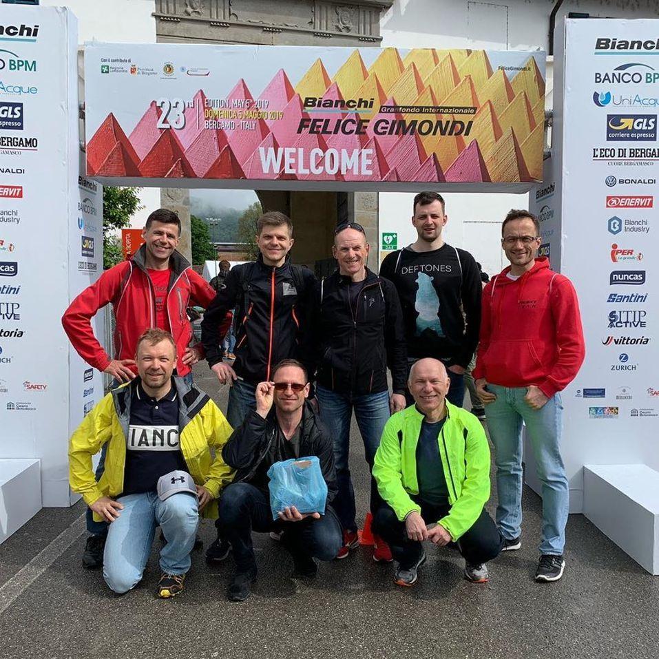 Команда в Италии