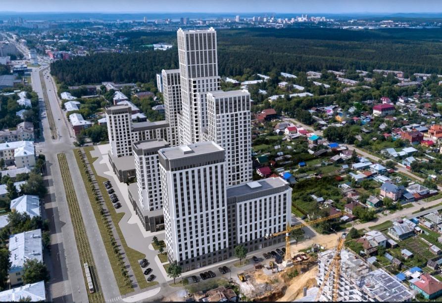 Карта новых строек Екатеринбурга: 11 жилых проектов, стартующих в 2020 году 8