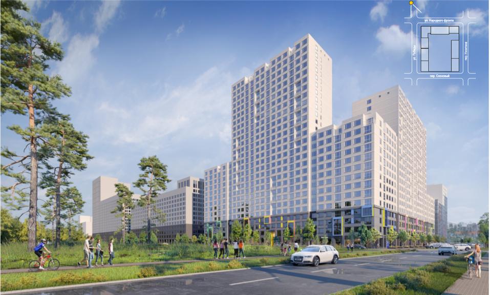 Карта новых строек Екатеринбурга: 11 жилых проектов, стартующих в 2020 году 9
