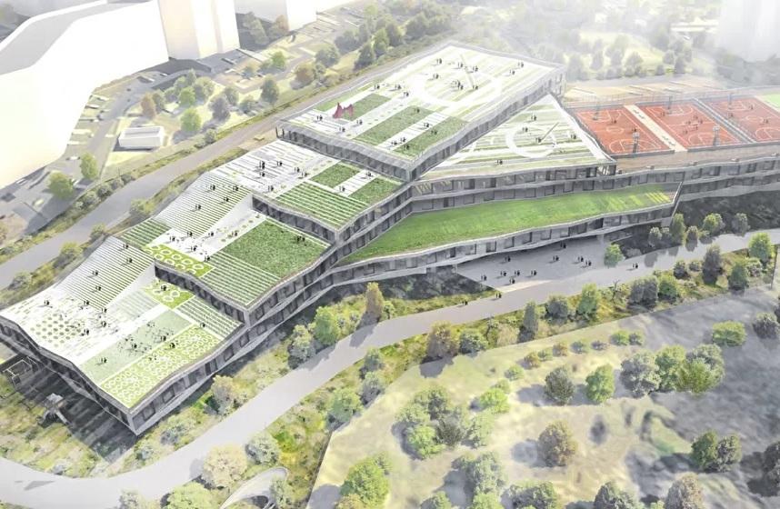 Появился проект образовательного центра за 7 млрд, который планируется построить к 2021 г. 1