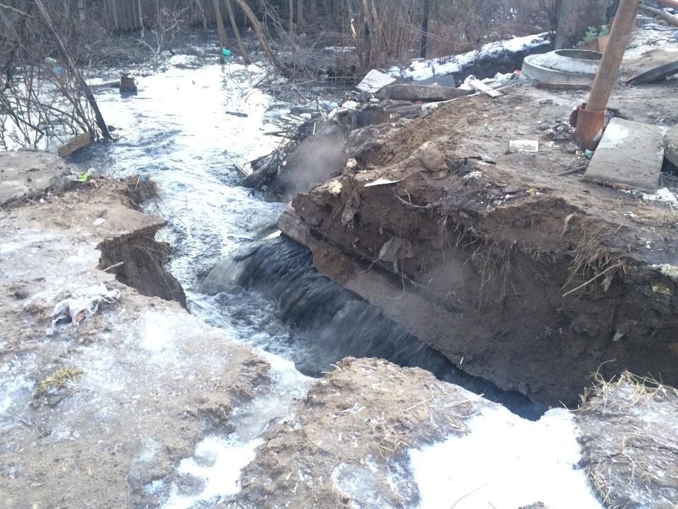 Район может остаться без воды. Крупная авария произошла на коллекторе в Нижнем Новгороде 1