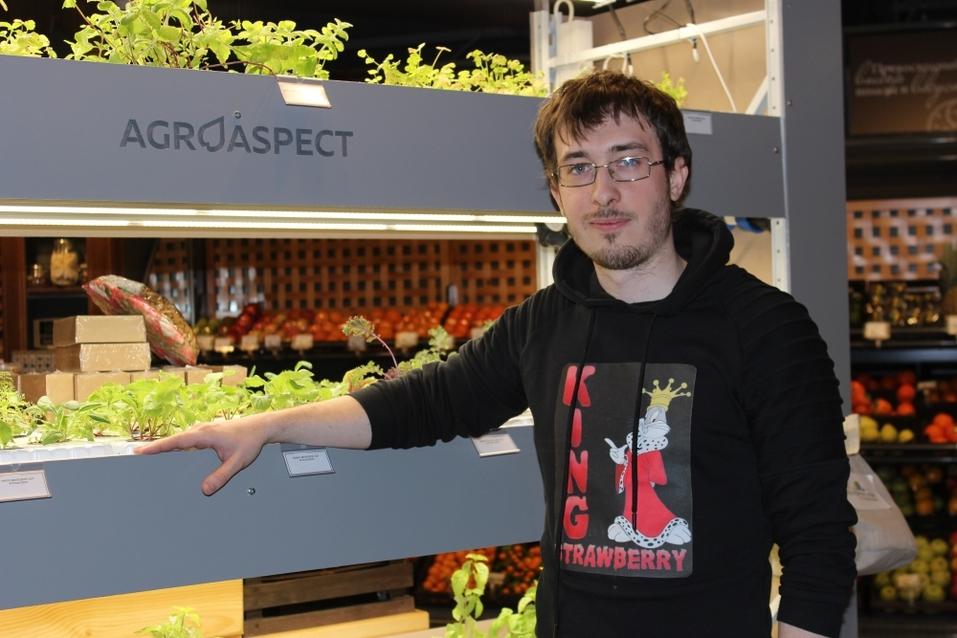 Будущее наступило: продукты будут выращивать прямо в магазине. Первый опыт в Екатеринбурге 2