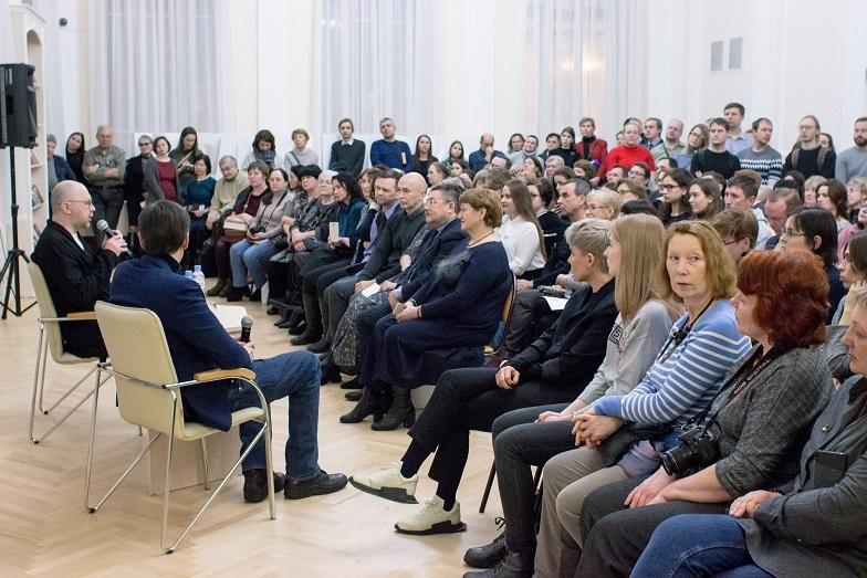 Встреча Алексея Иванова в Екатеринбурге