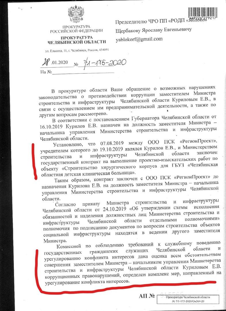 Конфликт интересов: прокуратура включилась в скандал со стройкой больницы в бору 1