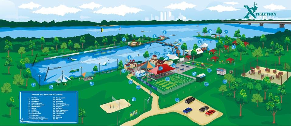 На Бору построят вейк-парк за 100 млн. Как он будет выглядеть? 1