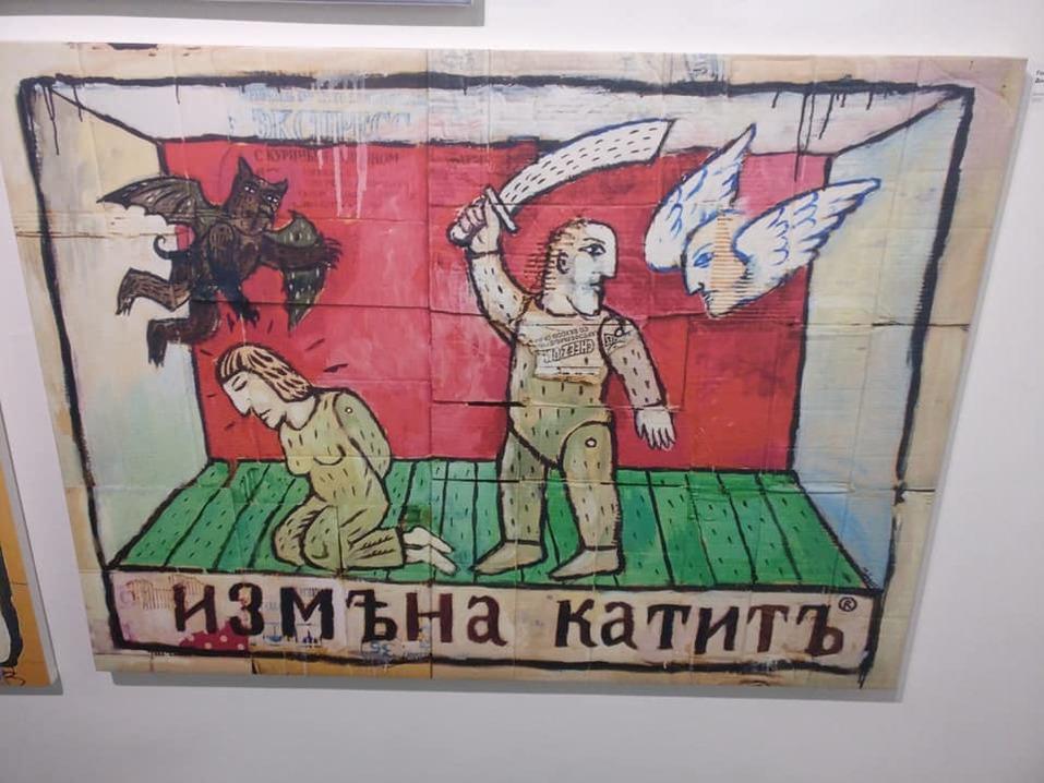 «Наше время пришло погостить в музее», — самая дерзкая выставка в Красноярске   5