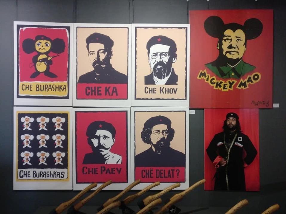 «Наше время пришло погостить в музее», — самая дерзкая выставка в Красноярске   1
