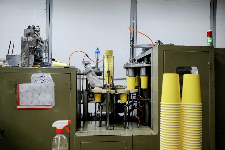 Станок для производства стаканов