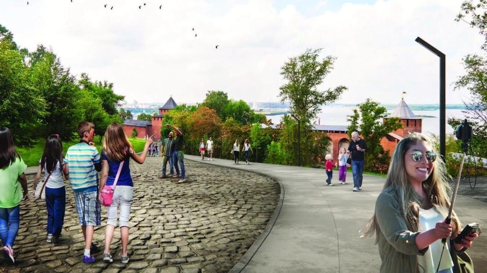 Новый парк, театр, мост и не только. Каким станет Нижегородский кремль к 2023 г.? 5