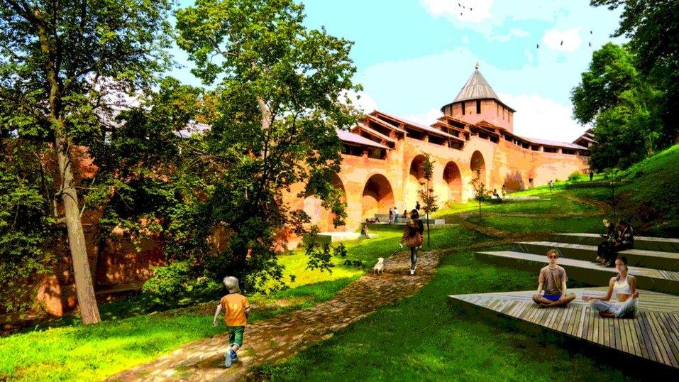 Новый парк, театр, мост и не только. Каким станет Нижегородский кремль к 2023 г.? 3