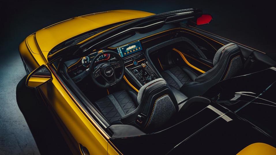 Компания Bentley представила эксклюзивный Bacalar 4