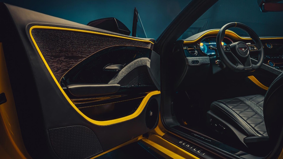 Компания Bentley представила эксклюзивный Bacalar 6