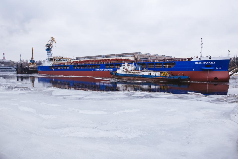 Завод «Красное Сормово» спустил на воду сухогруз «Пола Ярослава» 2