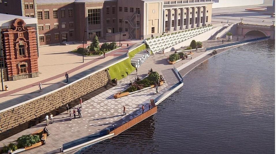 В Челябинске возбудили дело из-за строительства набережной 1