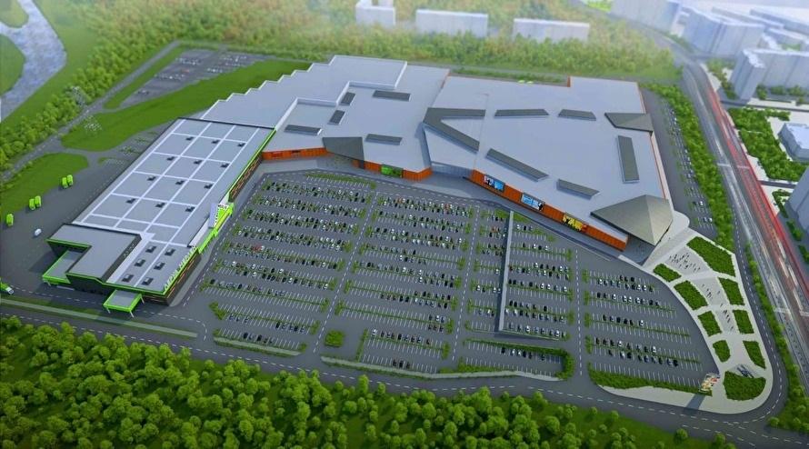 В Челябинске определились со сроками строительства ТРК «Аллея» 1