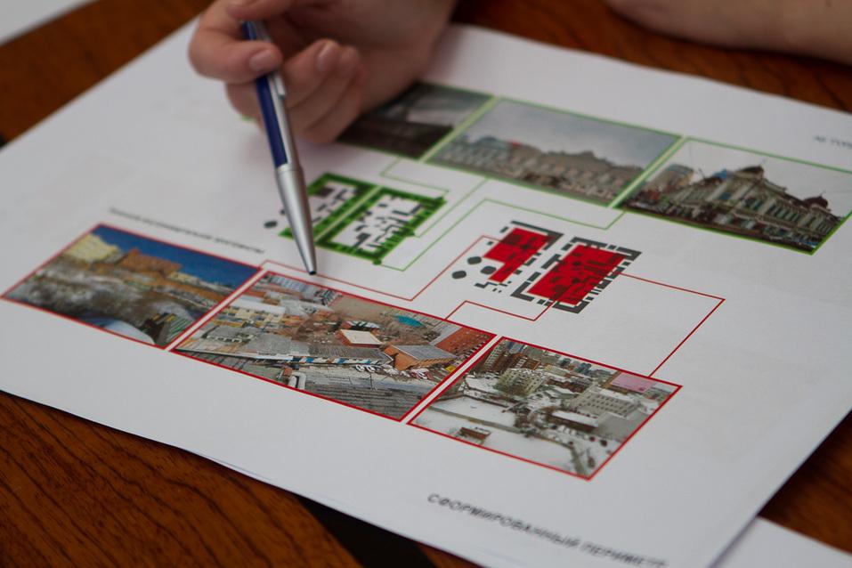 Проект ренновации центральных кварталов АБ «Гордеев — Демидов»