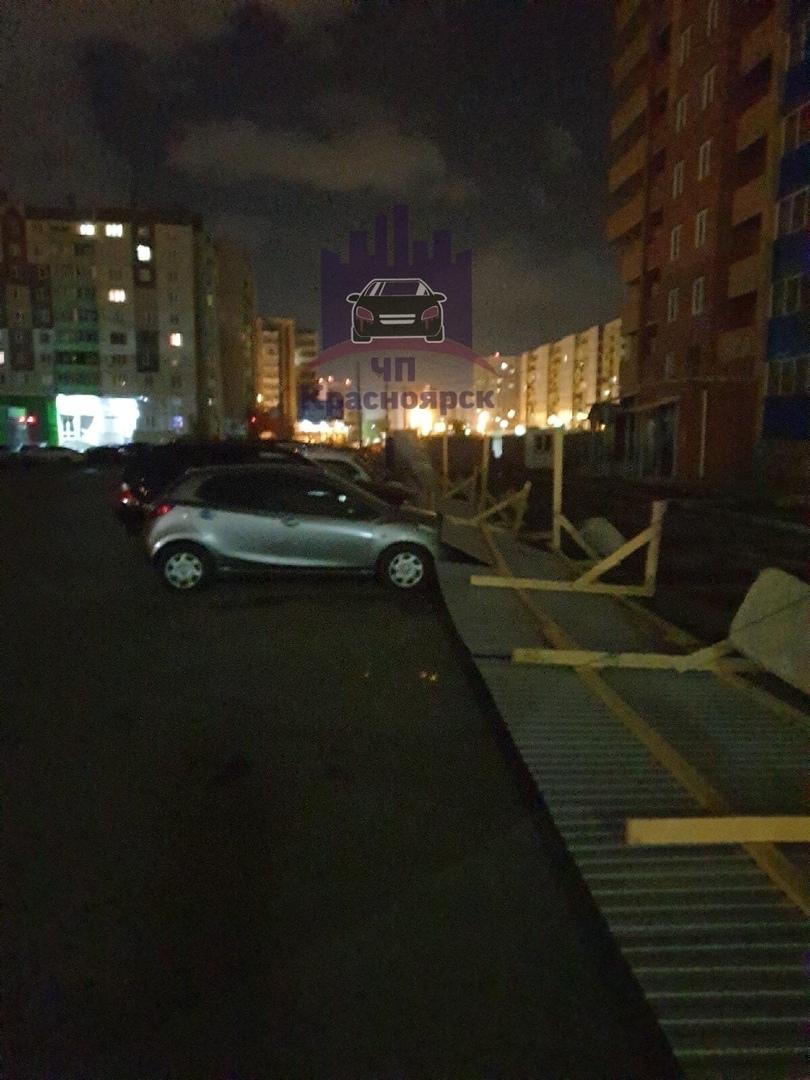 Красноярск устраняет последствия урагана   3