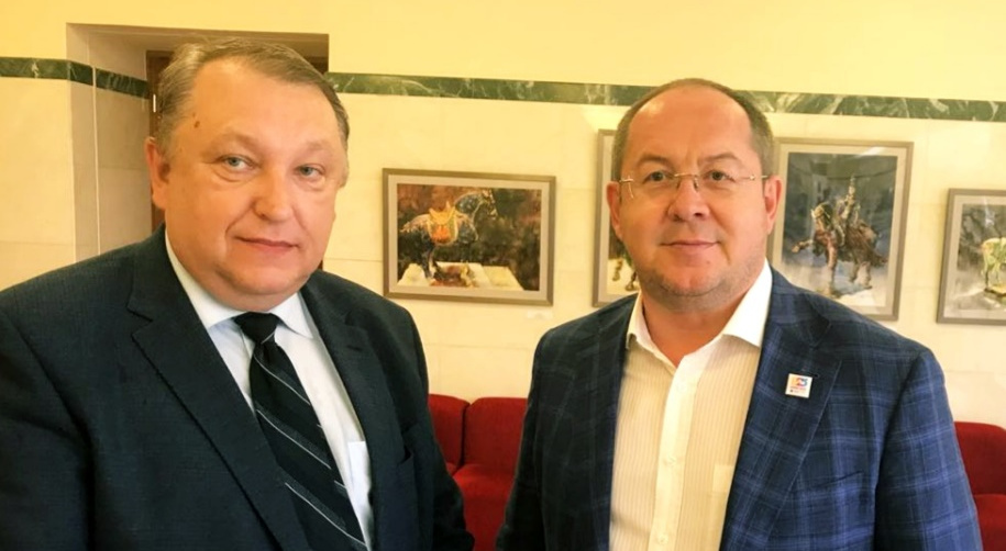 Дмитрий Ханин и Леонид Гункевич