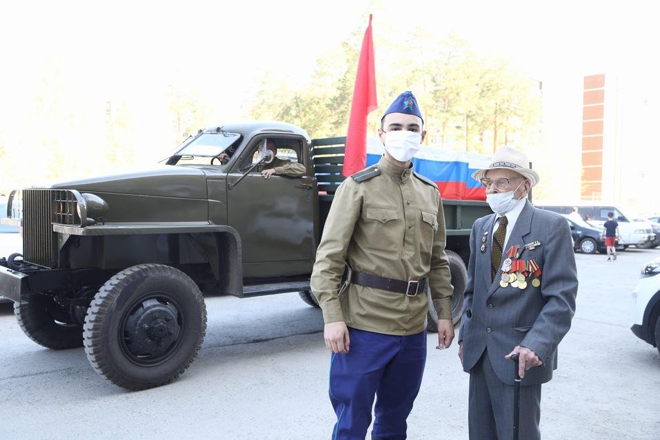 Как Екатеринбург отмечает День Победы в режиме карантина 5