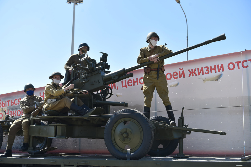 Как Екатеринбург отмечает День Победы в режиме карантина 6