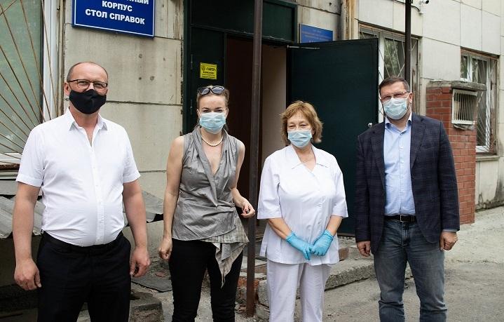 Делороссы закупили партию фильтров для городской больницы 1
