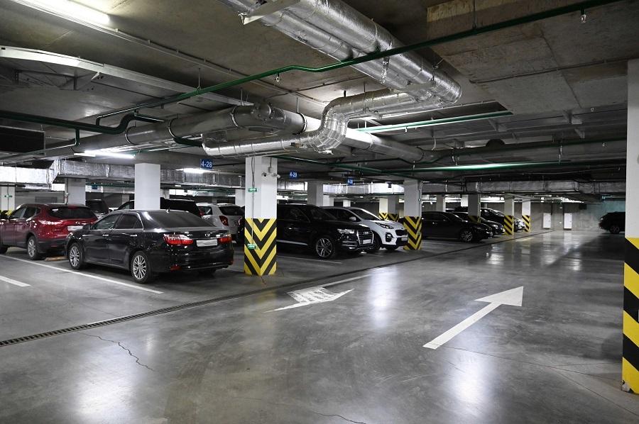 Подземный паркинг в новостройках «Арбан» можно приобрести с помощью ипотеки от Сбербанка 1