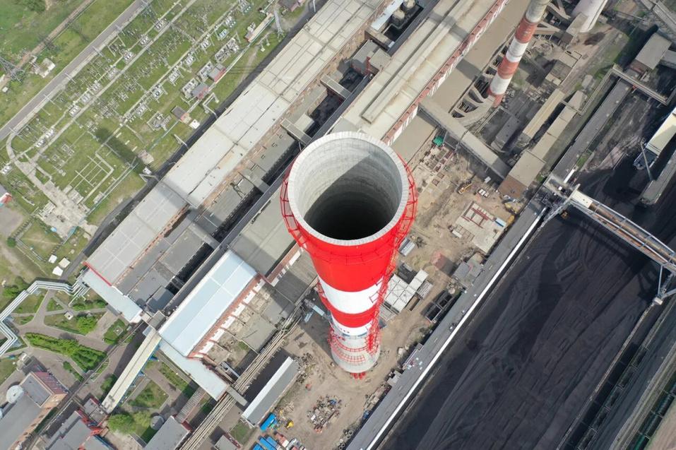 На Красноярской ТЭЦ-1 начато строительство электрофильтров 1