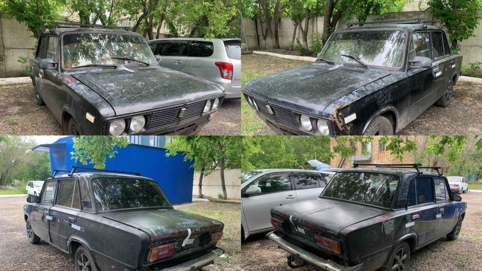 Красноярская полиция нашла автомобиль грабителей инкассаторов 1