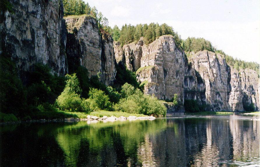 Река Ай в Межевом. Фото: Карта74.рф