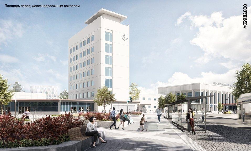 Площадь перед вокзалом «Нижний Новгород» благоустроят к 2021 г. Как? 4