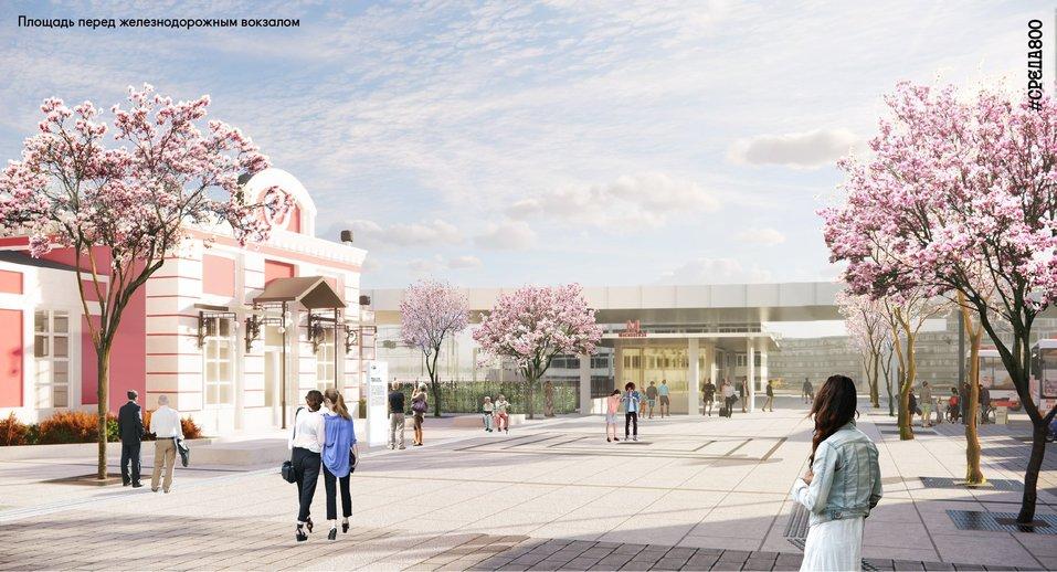 Площадь перед вокзалом «Нижний Новгород» благоустроят к 2021 г. Как? 5