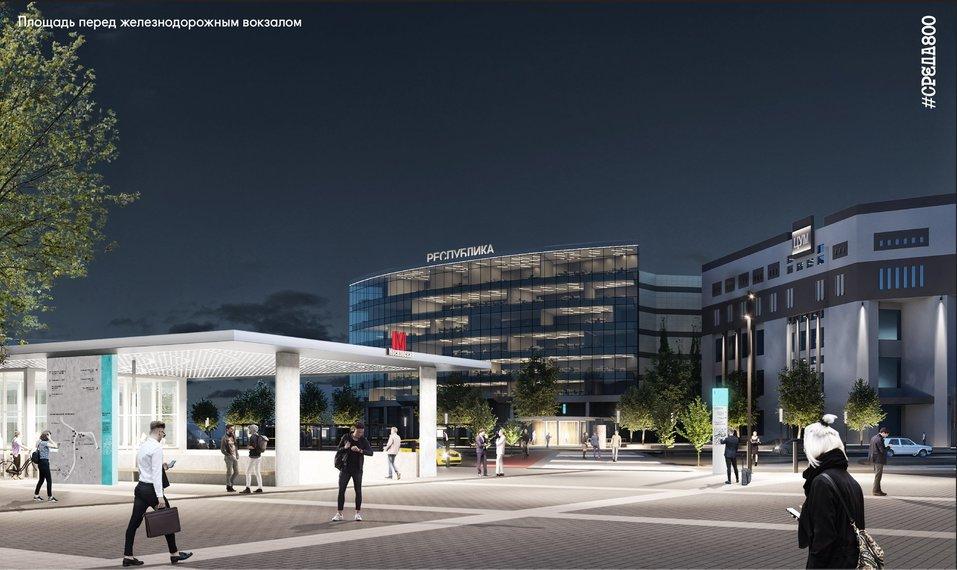 Площадь перед вокзалом «Нижний Новгород» благоустроят к 2021 г. Как? 6